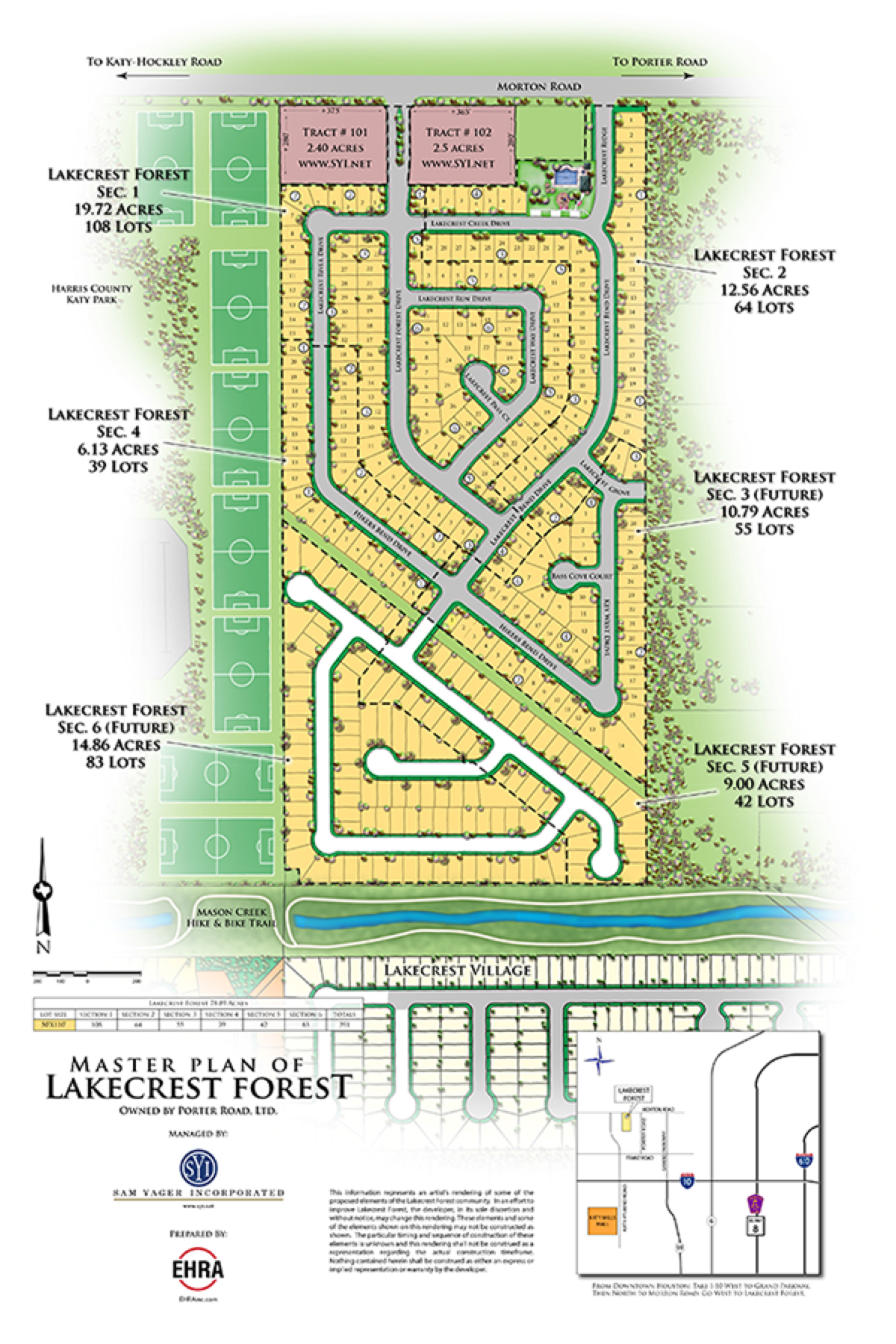 Lakecrest Forest Master Plan
